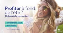De nouvelles possibilités pour se faire vacciner sans rdv ou en soirée