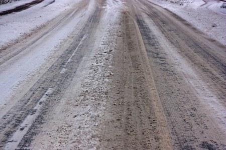Mise à disposition de sel de route