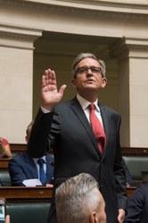 Prestation du serment du Député-Bourgmestre Philippe TISON à la Chambre