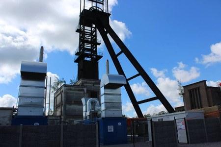 Première Belge à Anderlues! La production d'énergie verte à partir du gaz de mine